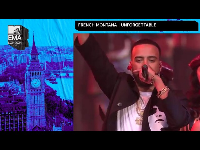 French Montana Swae Lee Perform 'Unforgettable' | MTV EMAs | Live Performance | MTV Music