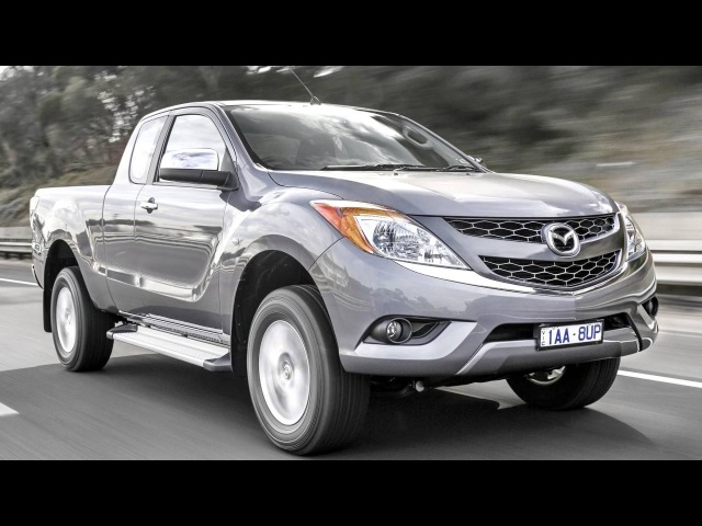 Mazda BT 50 Freestyle Cab AU spec '2011–15