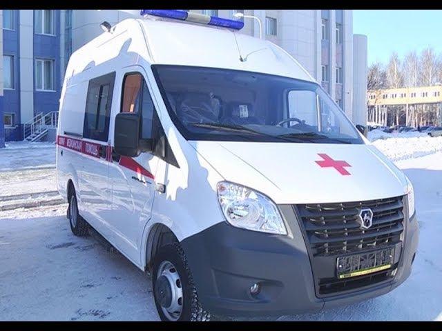 Две новые машины получили станции скорой помощи Нижнекамска и Камских Полян