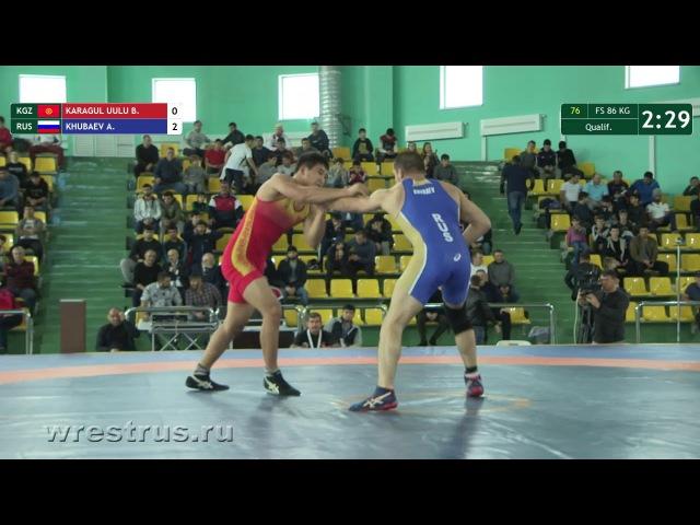 86kg. Qual. Karagul Uulu - Khubaev