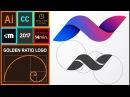 How to create Golden Ratio Logo Design in Adobe Illustrator CC HD N