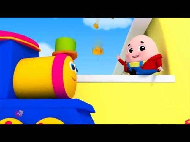 Humpty Dumpty Saß auf ein Wand | Kinder reim | Bob The Train | Preschool Rhymes | Kids Songs