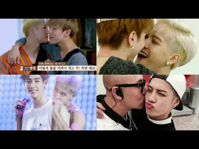 GOT7's Jackson Being Gay [He's addicted to Kiss, Hugs, skinship with a boy 😂]
