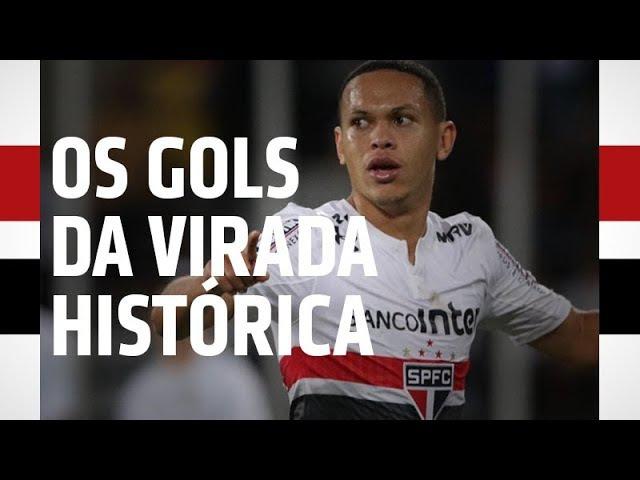 OS GOLS DA VIRADA HISTÓRICA | SPFCTV