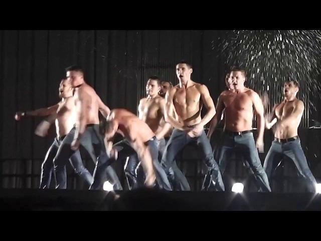 Санкт-Петербургский театр танца ИСКУШЕНИЕ Шоу под дождём, Дортмунд, Германия 19.05.17