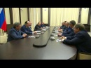 Владимир Путин встретился сушедшими вотставку руководителями регионов ипоблагодарил заработу