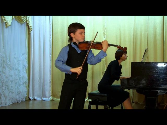 Матвей Блюмин. Брух концерт №1, часть 1