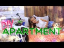 DIY How to Make Doll Apartment Bedroom Kitchen Livingroom and MORE