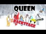 QUEEN - Under Pressure BACKSTAGE video cover by Lollipops Band