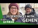 20 Sentences with the Verb gehen Super Easy German 58