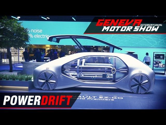 Renault EZ GO - Fully autonomous shared mobility : Geneva Motor Show 2018 : PowerDrift