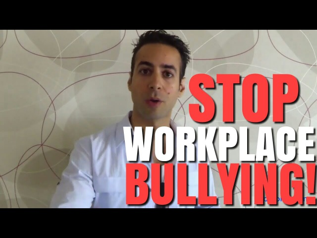 STOP Your Boss From Bullying You at work