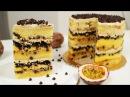 Торт с маракуей и шоколадными дропсами. / Наша группа в ВК: ТОРТЫ / ВИДЕО РЕЦЕПТЫ