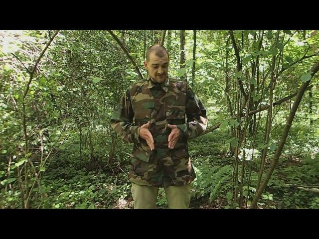 Обзор - полевой китель BDU shirt оригинального производства в расцветке Woodland