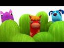 Деревяшки - Прятки - Серия 7 - Развивающий мультфильм для самых маленьких