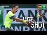 Hot Shot: Kohlschreiber Shows Off His Hands In Indian Wells 2018