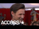 'The Crown's' Matt Smith Reveals Why Claire Foy Missed The 2018 SAG Awards | Access