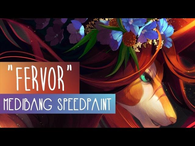 Fervor | SPEEDPAINT | Medibang Paint Pro