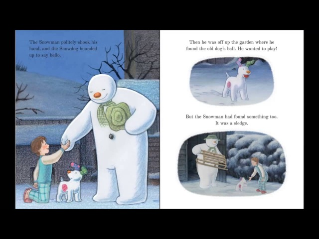 The Snowman and the snowdog Childrens books Nursery Rhymes Audiobook English rhymes