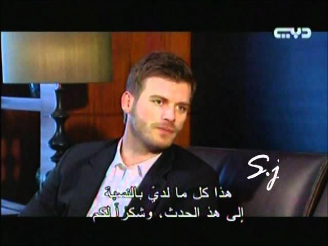 Kivanc with diala in dubai_كيفانج في مشاهير من دبي 5.6.2012