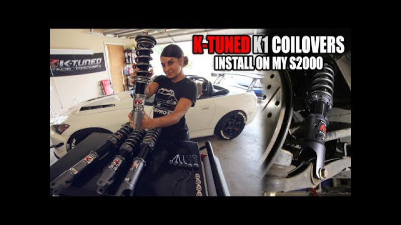 S2000 K-TUNED K1 COILOVER INSTALL