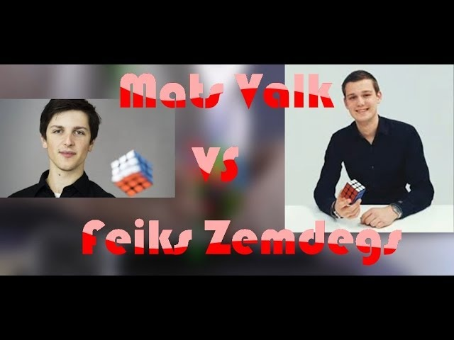 Mats Valk VS Feliks Zemdegs! СХВАТКА СИЛЬНЕЙШИХ!