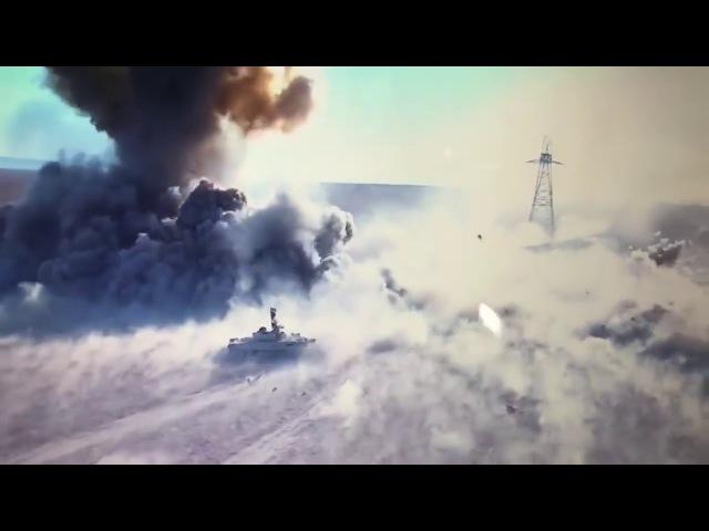 Смертельный поединок танка Т 72 и шахид мобиля