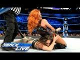#video@rubyriottdaily Becky Lynch &amp Naomi vs. Liv Morgan &amp Sarah Logan SmackDown LIVE, March 20, 2018