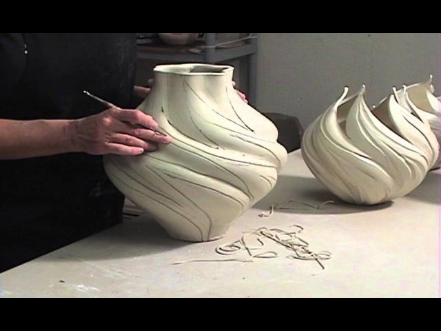 How to Turn A Wheel-Thrown Pot Into A Lighter-Than-Air Sculpture | JENNIFER McCURDY
