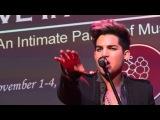 Adam Lambert - Chokehold - Live In The Vineyard - 11312