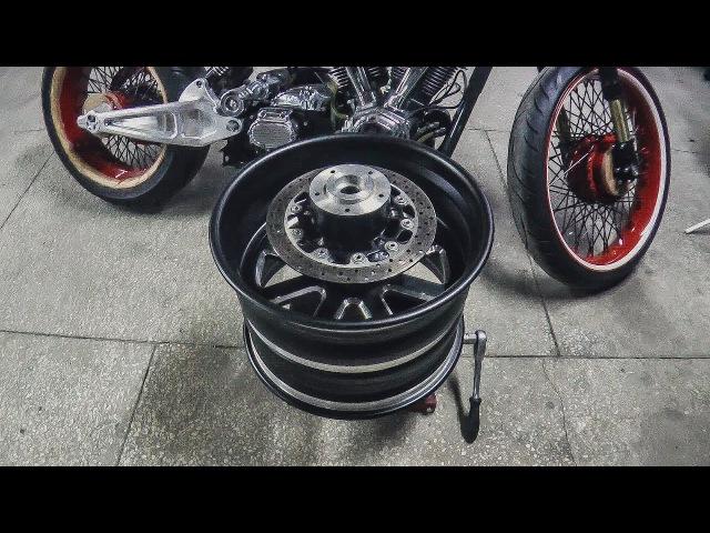 Как сделать колесо для Босс Хосса