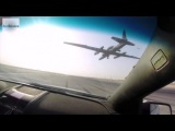 Pontiac GTO Chasing A Landing U-2 Spy Plane - View From The Chase Car