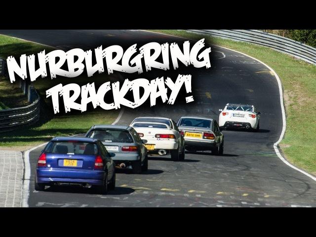 Nürburgring Trackday VLOG! BMW/Megane Crashes, Porsche Battles, and Broken Hondas...