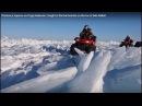 Попали в торосы на Льду Байкала. Caught in the hummocks on the Ice of lake Baikal.