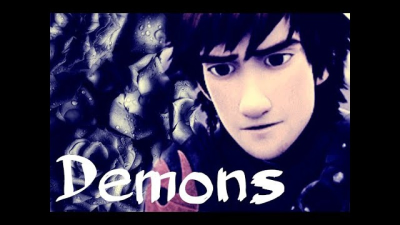 Rtte_Httyd || Hiccup Toothless || Demons