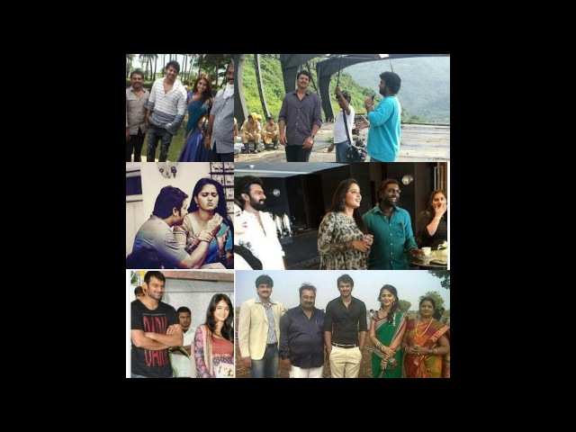 Sweety Darling in Mirchi and Bahubali Shooting Spot rare scenes