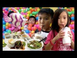 Kids Park at Aeon Mall Phnom Penh &amp Eat Foods at Various Places in Cambodia  Sunday is Children Day