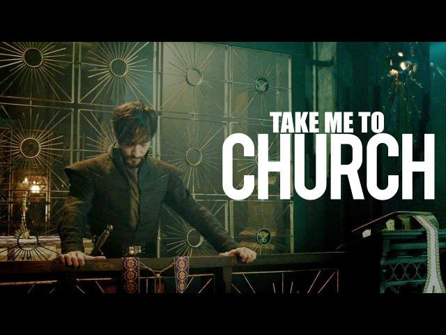 Leonardo × riario | take me to church