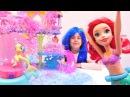 My Little Pony yapıştı kaldı! Ariel Deniz altı şatosundan oyuncakları çıkarmaya yardım etti