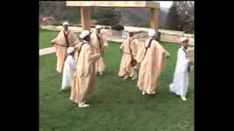 Танец регада Aarfa Taourirt REGGADA AARFA FOLKLORE DU RIF