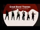 50 Years of James BOND / Compilation of the Great Theme Songs with Movie Clips 1 Hour