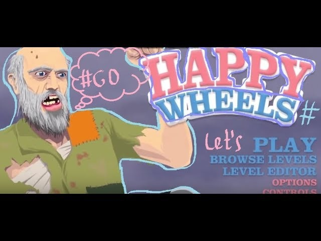 Go_Gamer играем Happy Wheels-Let's play/Aki Лис