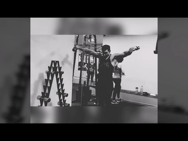 ФК Санаторный Тренировка плеч дроп сет добивка махи 12 02 18