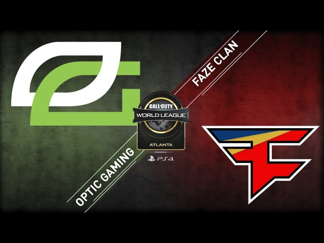 OpTic Gaming vs FaZe Clan CWL Atlanta Open 2018 Alpha Stream Day 1