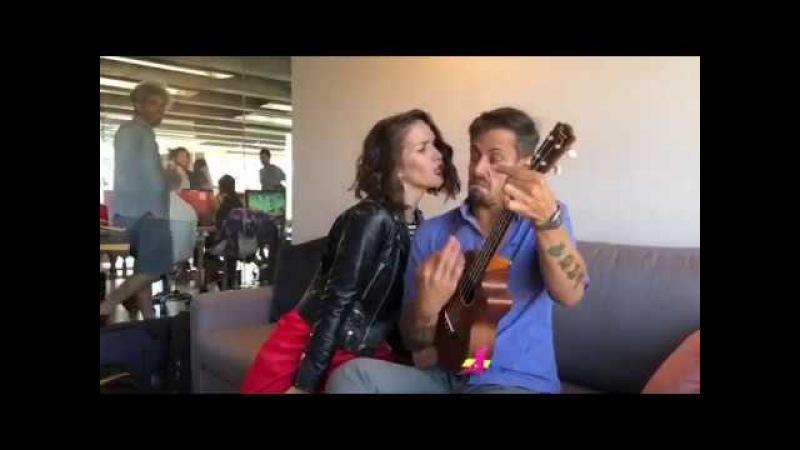 Natalia Oreiro Radagast Tu veneno backstage ReLoca
