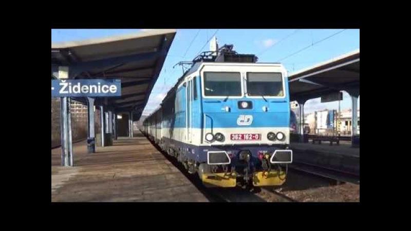 Vlaky Brno-Židenice 8.3.2018