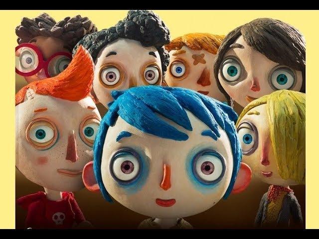 Жизнь Кабачка Ma vie de Courgette 2016 Семейный поучительный анимационный фильм