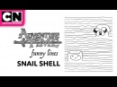 Funny Lines with Finn and Jake | Snail Shell | CN Mini