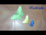 How to make a paper butterflyDIY Room &amp Wall decorationPaper butterfly tutorialEasy paper crafts