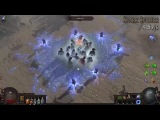 Path of Exile 3.1 Volley Edition - All Projectile Spells w 6 Totems &amp 15 Projectiles + MTX's